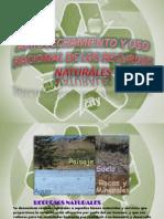 Aprovechamiento y Uso Racional de Los Recursos Naturales