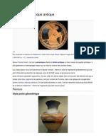 Céramique grecque antique