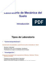 Introduccion a Lab. de Mec. de Suelos
