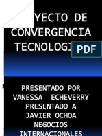 Proyecto de Convergencia Tecnologica