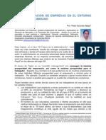 Peter Guzmán - EL ENTORNO EN LA ADMINISTRACIÓN DE EMPRESAS LLANERA