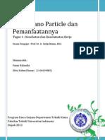 Tugas 1 (Zeolit Nano Particle Dan Pemanfaatannya