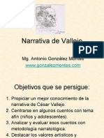 Narrativa de Vallejo-Antonio González Montes