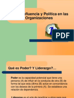 Poder cia y Politica en Las Organizaciones