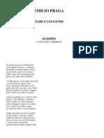 Emilio Praga - Fiabe E Leggende (Ita Libro)