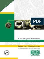 Clemex Catalogo Cojinetes Master
