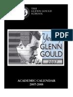 GGS Academic Canendar Aug 23 07 - 0708