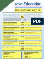 Reajuste2011-2012