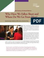 Reflections on a Half-Century of School Reform