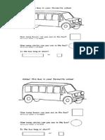 Bus Geometric Forms