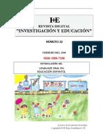 Nivel Educacion Infantil Titulo La Estimulacion Del Lenguaje Oral en Educacion Infantil Autora Mila Serrano Gonzalez[1]