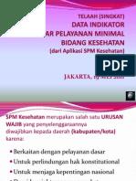 SPM Kesehatan 2009-2010