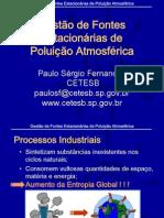 Gestão de Fontes Estacionárias de Poluição Atmosférica