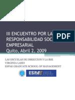 IIIEncuentro RSE-Panel Escuelas de Direccion (2)