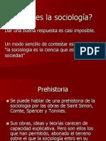 Que es la sociología