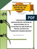 Estudio de Pre inversión SAN PEDRO DE PAICHA