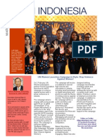 United Nations in Indonesia Newsletter, March 2012 (English)