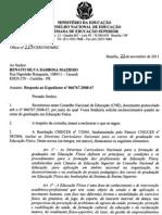 Ofício 229 CNE-CES-MEC