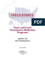 NCLC 2010 Foreclosure Mediation Study