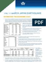 IATA Economic Briefing Japan Earthquake March 2011