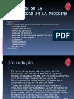 Aplicación de la electricidad en la medicina