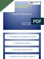 1.- CONCEPTO DE CALIDAD