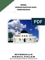 Proposal Musholla Darul Falah