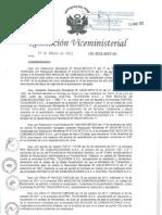 Resolución del MTC que confirma a RBC como concesionario licencia Canal 11