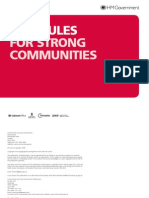 Fair Rules for Strong Communities
