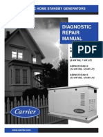 Carrier Generator Diagnostic Repair Manual Aspas07-1dm