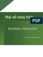 Symbolic Integration