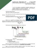 Logaritimos   1ª Parte -  Versão Explicada