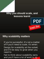 Last Fm - Make It Scale
