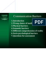 Communication Barriers 2