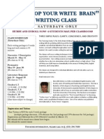 Writers Workshop Flyer 1203