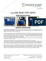 Hose Test Unit Specs