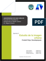 Analisis de La Imagen Urbana_ciudad Vieja