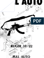 Ruger 10 22 Full Auto Conversion Version