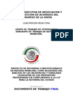 Documento Cenca Federalismo 16 Enero 2007
