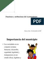 Funciones y atribuciones del Ayuntamiento