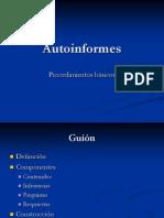 Autoinformes
