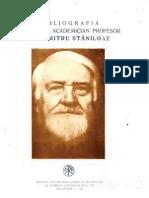Bibliografia-Dumitru-Staniloae