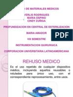 Rehuso de Materiales Medicos
