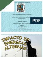 Desarrollo Sustentable.energias Alternas