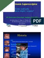 Histerectomía Laparoscópica