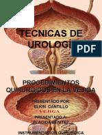 Procedimientos Quirurgicos en Vejiga