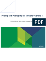 080911 Pricing and Packaging for Vmware Vsphere 5 343544 v2
