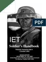 Soldiers Handbook