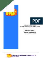 HT Procedure (Tank)