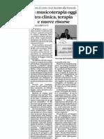 Articolo Convegno MT 25 Novembre 2008